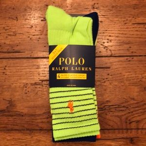 NEW - POLO Ralph Lauren Classic Sport 4-Pack